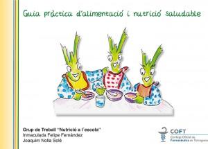 El COFT edita una guía sobre alimentación y nutrición saludable