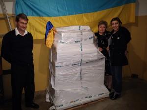 FSFE envía ayuda humanitaria en forma de medicamentos y productos sanitarios a Ucrania