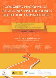 Llega el I Congreso Nacional de Relaciones Institucionales en el Sector Farmacéutico