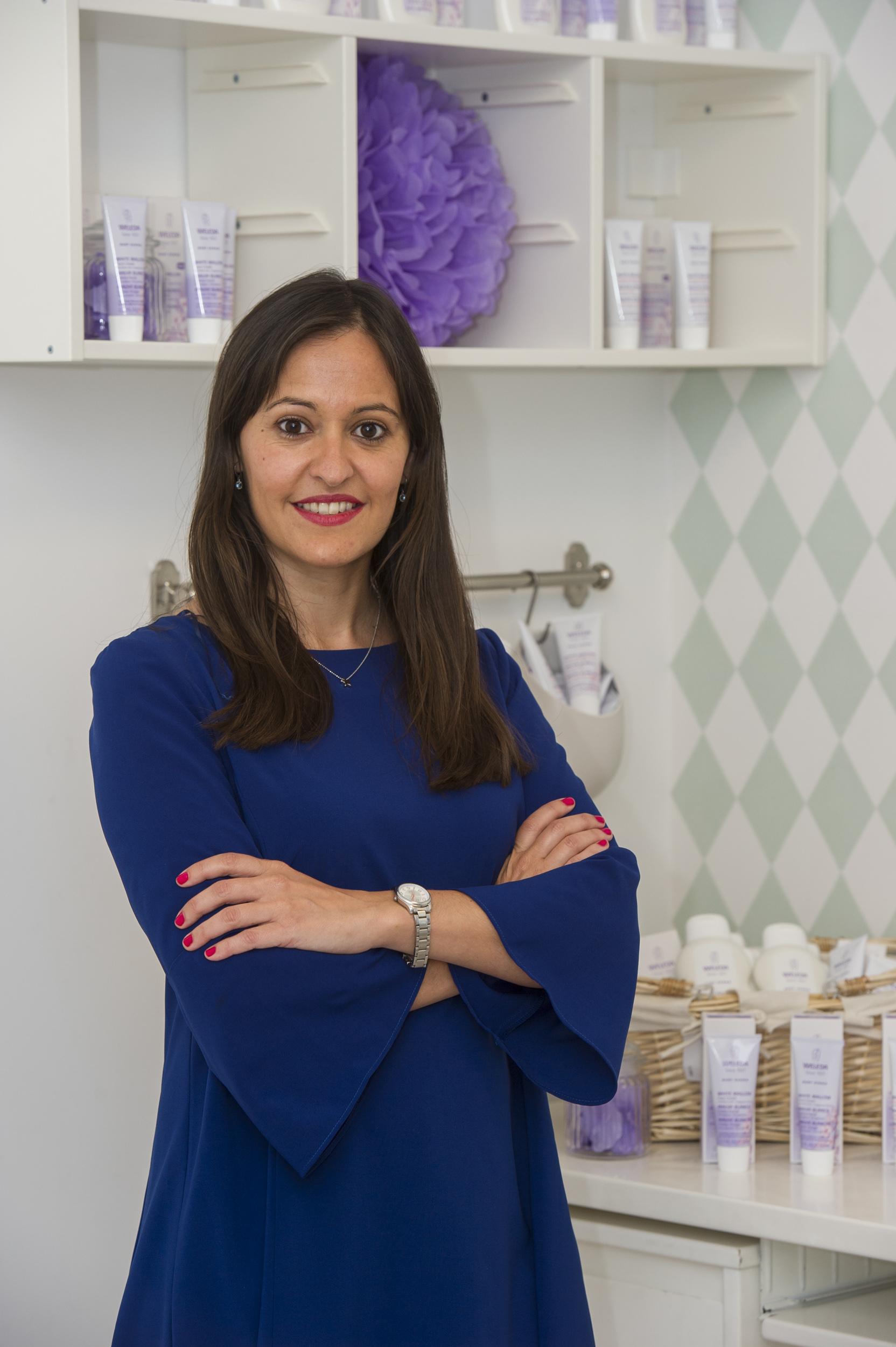 María Garnica es Marketing Manager de Weleda, expertos en la protección de pieles atópicas de bebés