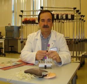 Sabin Urcelay: Presidente de la Asociación de Donantes de Sangre de Gipuzkoa