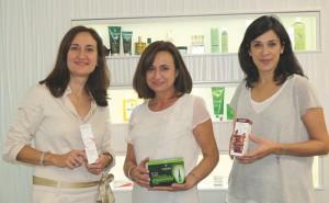 Mónica Martín Yuste, Amalia López y Cristina López Alcalá, Expertas en Innovación anticaída