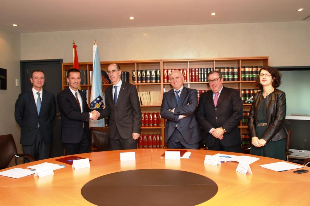 Firma acuerdo Chiesi-SERGAS