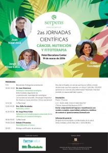 Cáncer, nutrición y fitoterapia: jornadas científicas