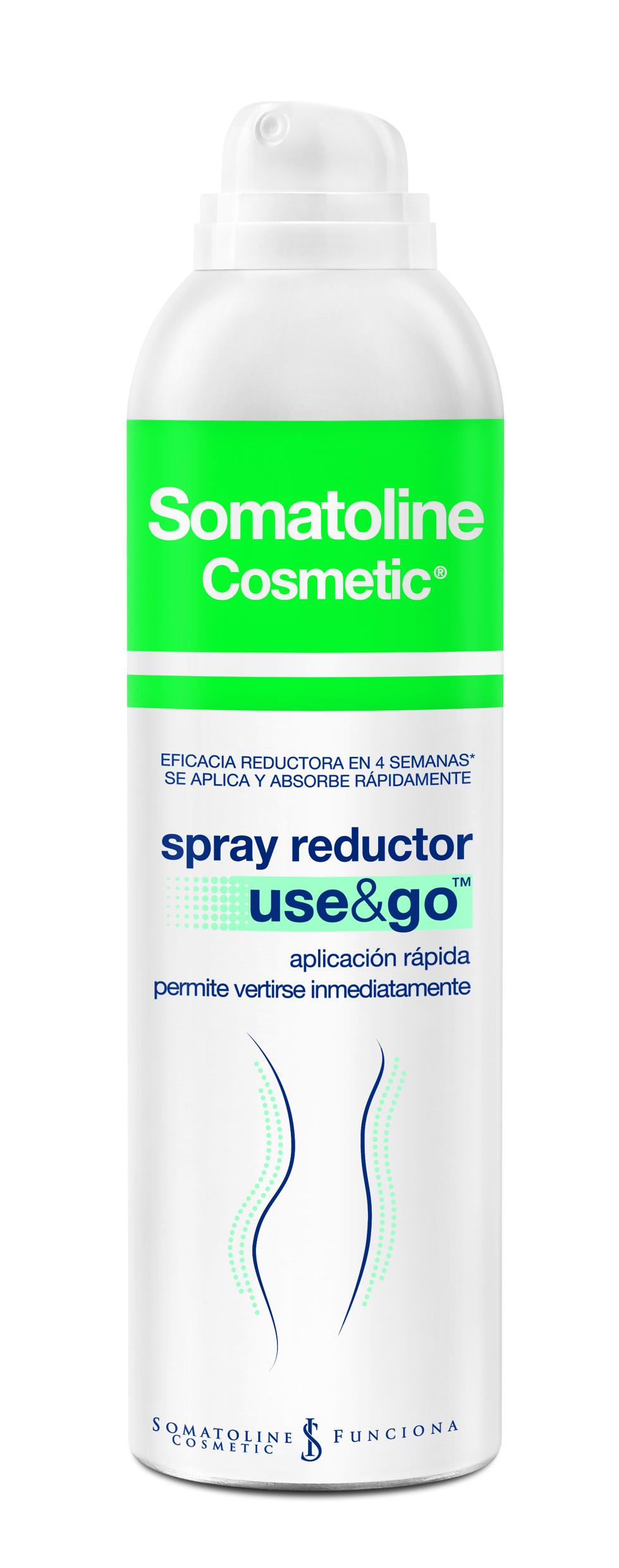 SOMATOLINE COSMETIC SPRAY REDUCTO USE & GO FONDO BLANCO