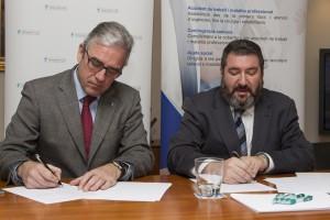 El COFB firma un acuerdo con Asepeyo