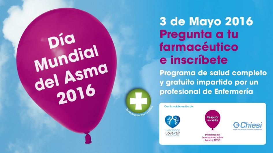 Cartel Día Mundial del Asma