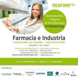 Networking, para potenciar de la dermocosmética en farmacias