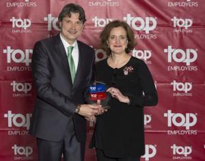 MSD renueva la certificación Top Employer en España y Europa