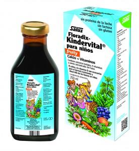 Floradix-Kindervital fruity, calcio y vitaminas para los peques