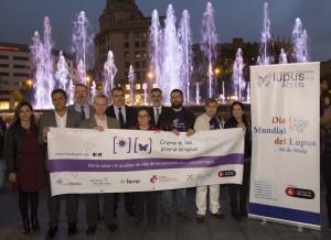 1_Dia Mundial Lupus Plaza Catalunya