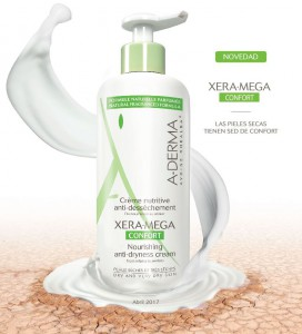 A-Derma Xera-Mega Confort, crema nutritiva anti-sequedad