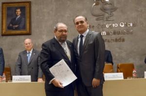 La Farmacia andaluza otorga su máxima distinción a Antonio José Ruiz Moya