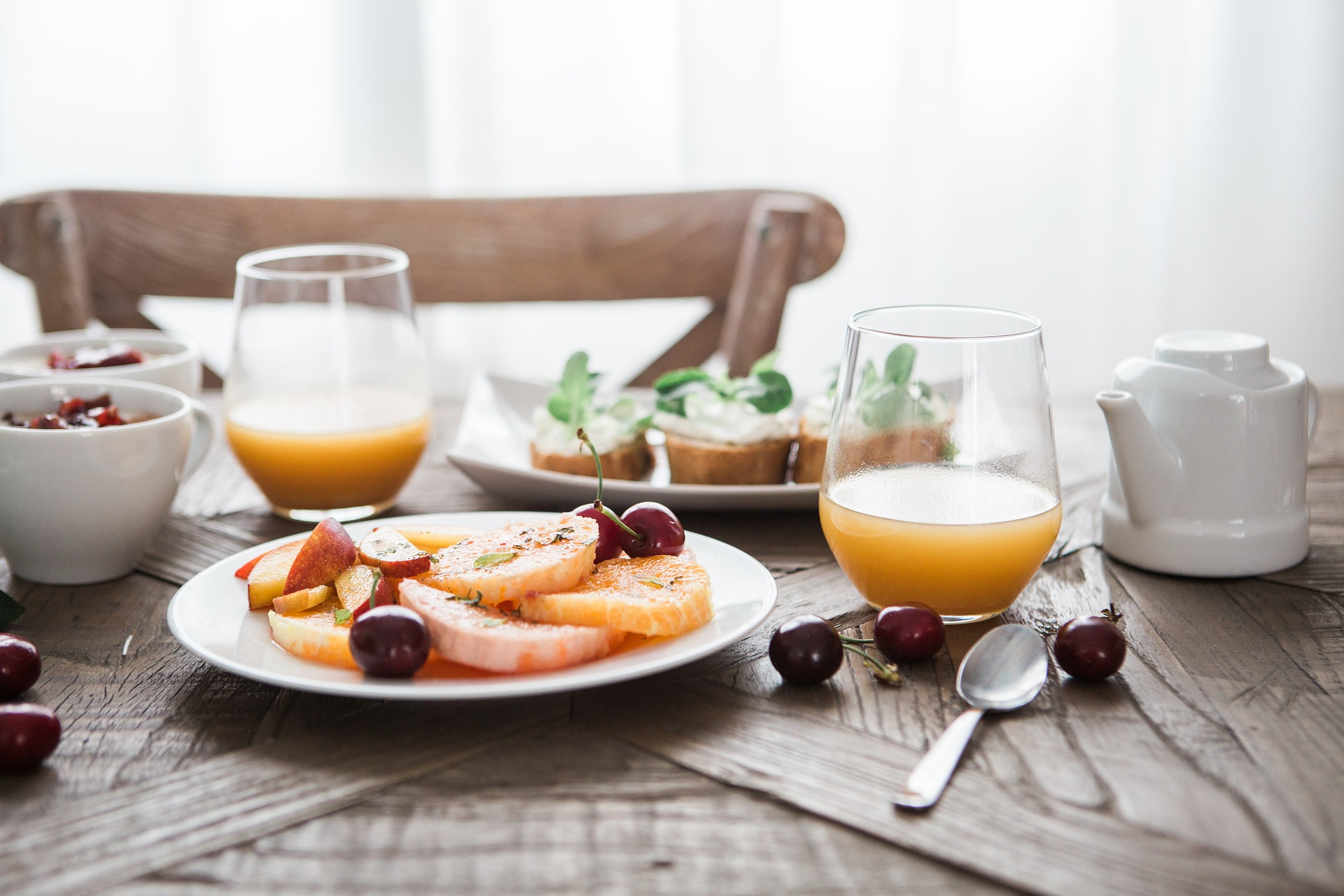 formula desayuno