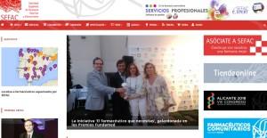 SEFAC renueva su página web con un nuevo diseño