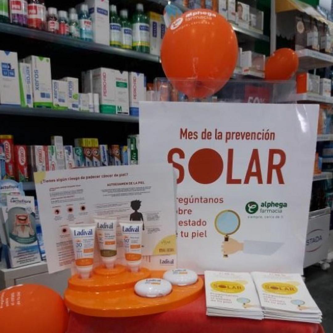 campaña prevencion solar Alphega
