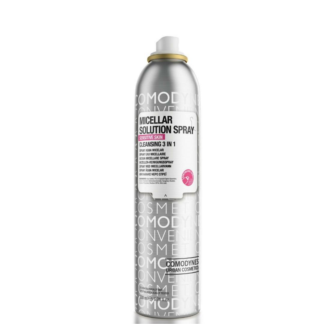 Agua Micelar Spray de Comodynes también para hombres