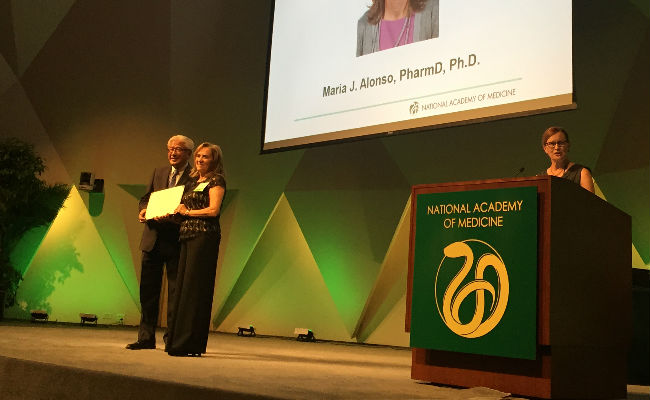 Nombramiento Maria Jose Alonso National Academy of Medicine