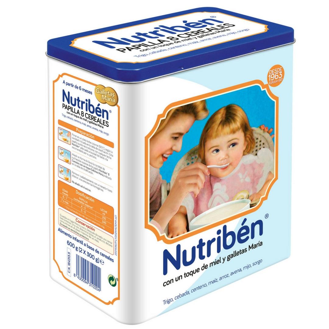 Nutribén lanza una edición limitada de su lata vintage