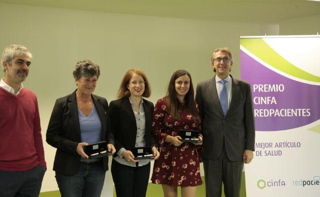 Cinfa y Redpacientes entregan sus II Premios al Mejor Artculo de Salud
