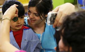 Fundación IMO supera las 850 revisiones oculares a menores en riesgo de exclusión social