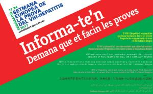 Las farmacias de Tarragona con la Semana Europea de la Prueba del VIH