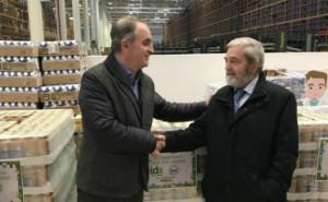Bidafarma, sus empleados y las farmacias, donan más de 3.300 kg al Banco de Alimentos