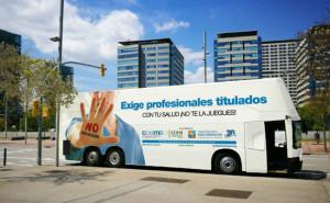 'Exige profesionales titulados, ¡Con tu salud no te la juegues!', nueva campaña contra el intrusismo profesional