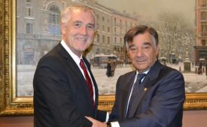 La Fundación Colección Thyssen-Bornemisza y el COFM firman un acuerdo de colaboración