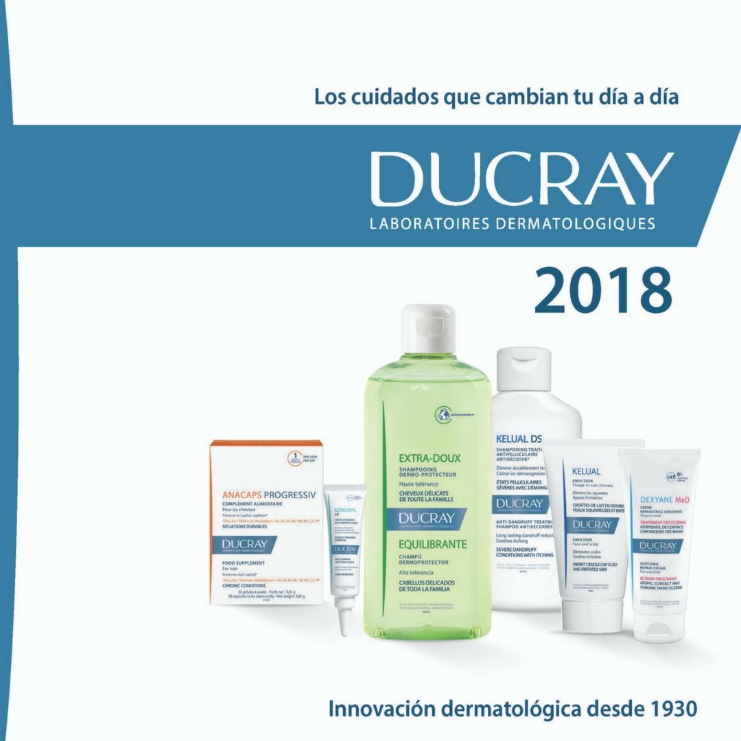 Ducray actualiza su imagen, su comunicación y lanza su nueva web