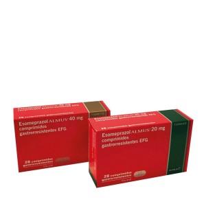 Almus lanza Esomeprazol Almus, comprimidos gastrorresistentes EFG