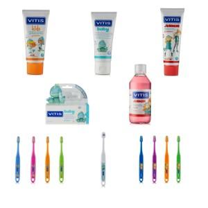 Dentaid lanza su nueva gama de higiene bucodental Vitis infantil