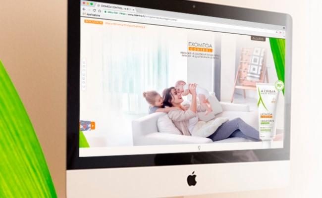 Exomega Control dedica un minisite web a las pieles con tendencia atópica