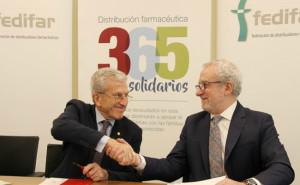 Eladio González Miñor y Manuel Bretón Romero (FEDIFAR)