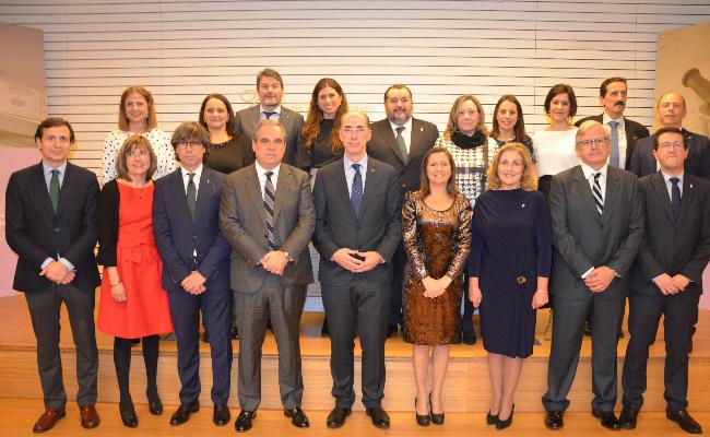 La nueva junta de gobierno del Colegio de Farmacuticos de Pontevedra toma posesion