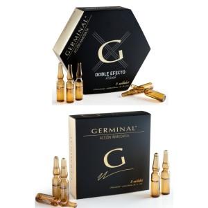 Less is more menos maquillaje más tratamiento con Germinal