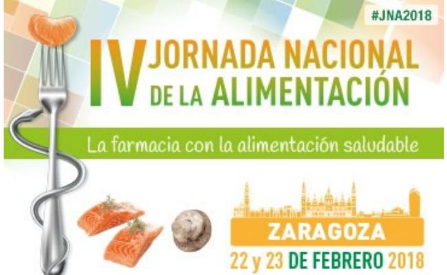 Zaragoza reunir a ms de 400 farmacuticos en la IV Jornada Nacional de Alimentacion