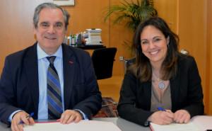 CGCOF y la Fundación Luzón se unen para dar visibilidad a la Esclerosis Lateral Amiotrófica