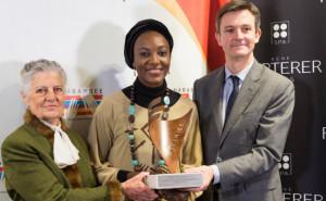 La lucha contra la discriminacion de la mujer rural en Nigeria premio Harambee 2018