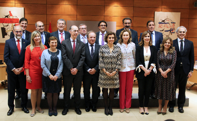 FOTO: Dolors Montserrat preside el Pleno del Consejo Interterritorial del Sistema Nacional de Salud
