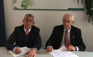 Farmacéuticos Sin Fronteras y la Academia Iberoamericana de Farmacia firman un convenio de colaboración