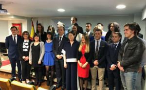 FOTO: Nueva Junta de Gobierno del COF Asturias
