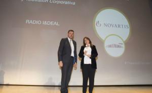 Novartis galardonada en los Premios Dircom Ramn del Corral por Radio IDeal