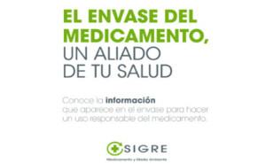 SIGRE lanza la campaña 'el envase del medicamento, un aliado de tu salud'