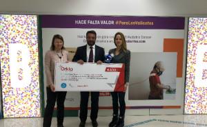 Salvelox colabora en la lucha contra el cáncer infantil