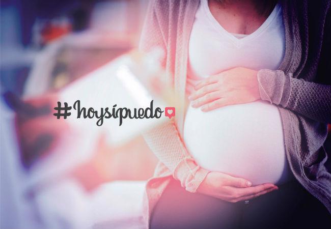 #HoySiPuedo_embarazo
