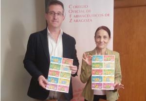 Los farmacéuticos de Zaragoza participarán en la venta del 'Sorteo de Oro' de Cruz Roja