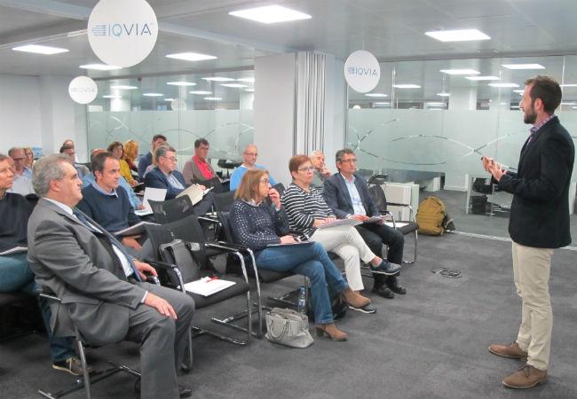 Asistentes a la jornada organizada por IQVIA y FEFAC