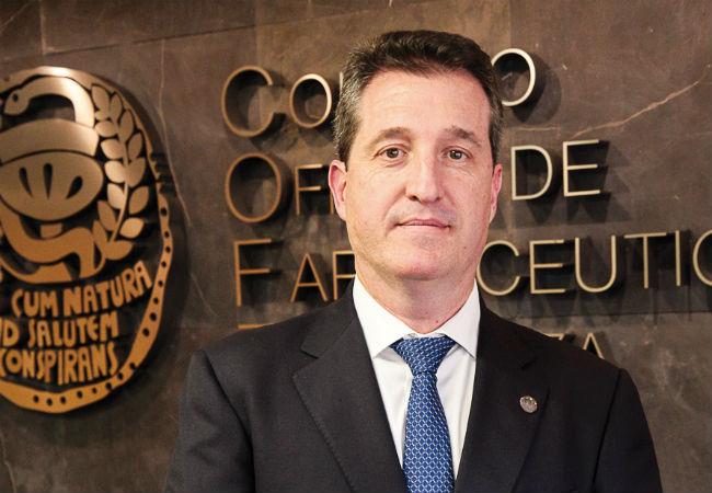 Ramón Jordán, presidente de Cof Zaragoza