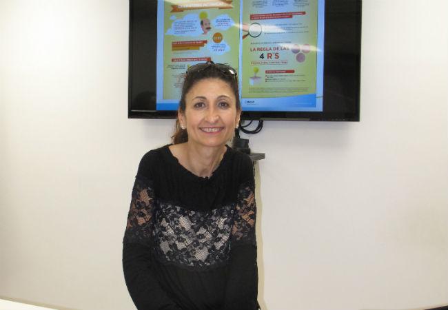 La dermatóloga Lucía Carnero
